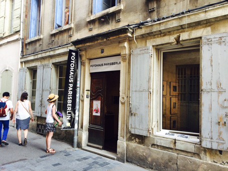 oks beim Recontres d'Arles 2015