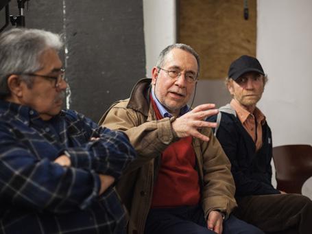 Oscar Navarro  Santiago Oyarzo  José Giribás