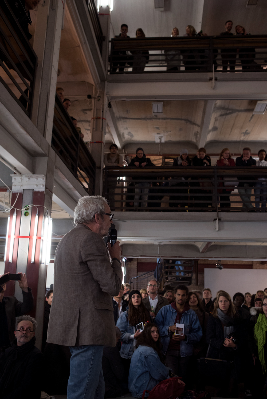 Fotos zur Vernissage der Abschlussausstellung des 10. Jahrgangs der Ostkreuzschule für Fotografie